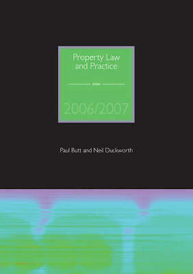 Property Law and Practice by Paul Butt Neil Duckworth (Paperback) Amazing Value
