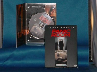 JODIE FOSTER FOREST WHITAKER Panic Room DVD