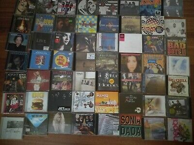A BULK LOT OF 113 CDS and 11 Cassettes