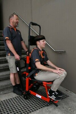 Motorised Stair Climbing Evacuation Chair Lift  With 180kg capacity