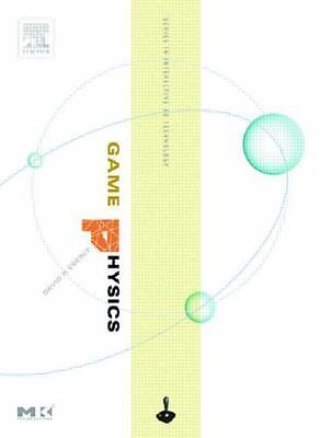 Game Physics by David H. Eberly (2003,Un-used Hardcover CD-R O M never opened )