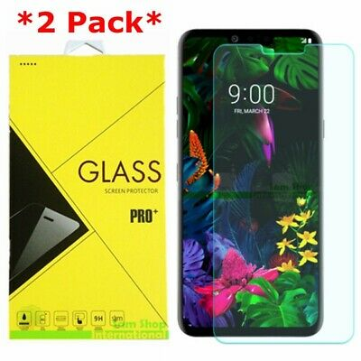 2-Pack Case Friendly Premium Tempered Glass Screen Protector For LG G8 ThinQ