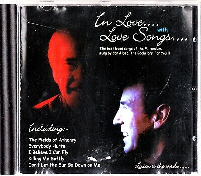 Con & Dec -The Bachelors -In Love With Love Songs CD -RARE (Everybody Hurts)