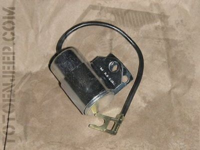 A1631 CONDENSATEUR ALLUMEUR  6/12V JEEP  FORD GPW WILLYS top qualite