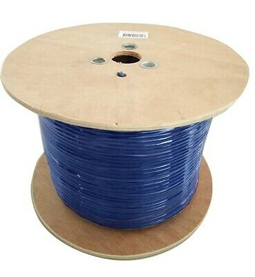 8WARE Cat6A Underground/External Cable Roll 350m Blue