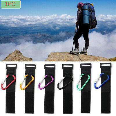 Durable Metallic Stroller Hooks Carabiners Cart Accessories Shopping Bag Clip