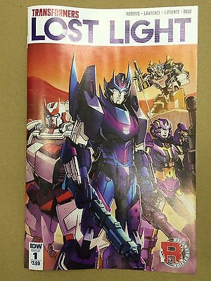 IDW comics: TRANSFORMERS LOST LIGHT # 1 , Regular Cover