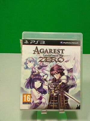 Agarest Generations Of War - Ps3 - Ita - Completo