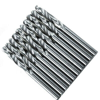 Solid Carbide Drill Bits 1/8inch Metalworking 10pcs 3.175mm CNC Latest Useful