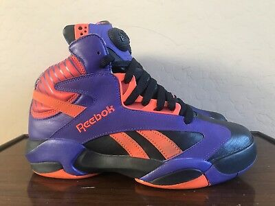 80410630d54 Reebok Pump Shaq Attaq Phoenix Suns Basketball Sneakers V61029 Men s Size  8.5