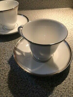 Waterford HARCOURT PLATINUM Tea Coffee Cup and Saucer China