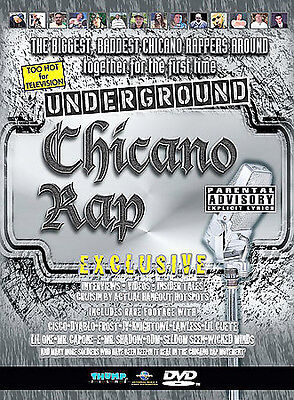 NEW (SEALED) DVD: Chicano Rap:  DON CISCO, CAPONE-E, ODM, MR. SHADOW, LIL ONE +