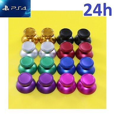 Lot 2 Joystick Stick Grip Remplacement Métal Aluminium Manette PS4 Playstation 4