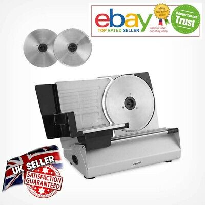 Brand new Solid Steel Meat Slicer Premium Cutting Machine for Meats Cheese ham