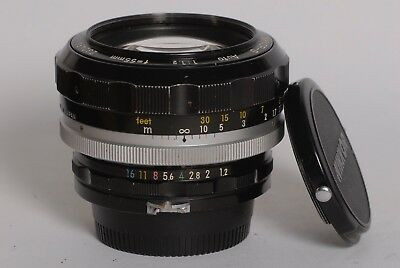 Nikon Nikkor-S Auto 1.2/55mm 1.2 55mm Ai adapted