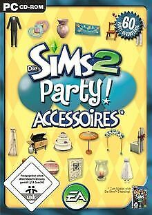 Die Sims 2 - Party-Accessoires (Add-On) von Electronic A... | Game | Zustand gut