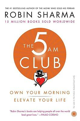 The 5 AM Club: Own Your Morning. Elevate Your Life📧⚡Email Delivery(10s)⚡📧