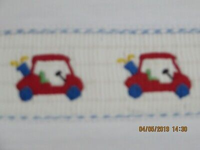 Vive la Fete boy smocked t -shirt white Golf carts 2T Just arrived! NWT 2019 S/S