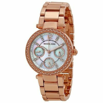 Michael Kors MK5616 Mini Parker Rose Gold Glitz Womens Watch