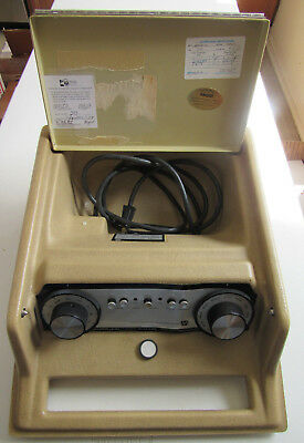 MAICO Model MA 27 Ultra Portable Screening Audiometer Unit Sound Tested & Works