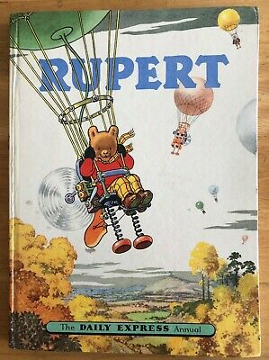 RUPERT Annual 1957 ORIGINAL Inscribed NOT Price clipped Painting Untouched VG/F