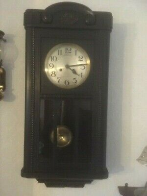 Antique 1930's Gothic style wall clock