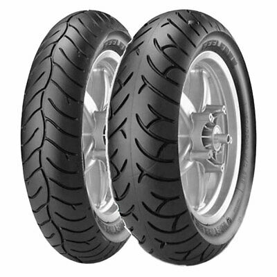 Coppia Gomme Metzeler 120/70-14 55H + 140/60-14 64P Feelfree