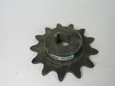 "Martin 2052B13 Double Pitch Sprocket 1-1/4"" ID 13T 2052 Chain 3"" OD ! WOW !"