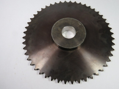 "BVP 60B48 Roller Chain Sprocket 1.688"" ID 48T 60C .0015"" OD ! WOW !"
