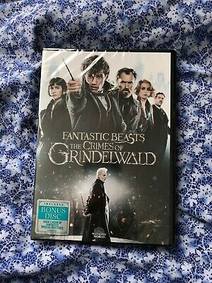 Fantastic Beasts: The Crimes of Grindelwald (DVD, 2019) New and Sealed!