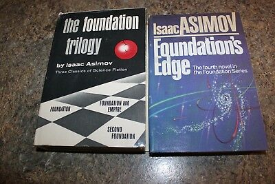 The Foundation Trilogy and Foundation's Edge by Isaac Asimov