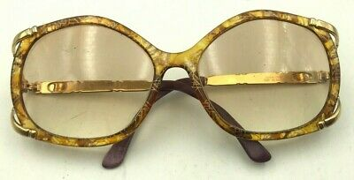 6f37589dfc785 Vintage Christian Dior Optyl 2605 40 Amber Gold Butterfly Sunglasses Frames