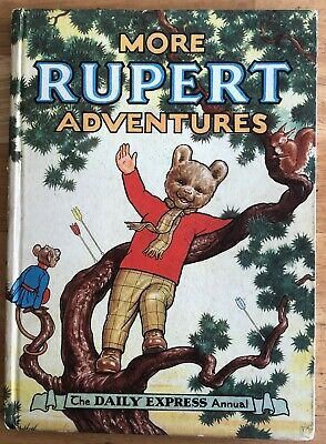 RUPERT ORIGINAL ANNUAL 1952 Neatly Inscribed Not Price Clipped VG/FINE Lovely