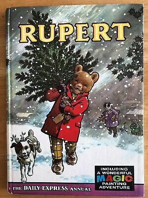 Rupert Annual 1965 Not Inscribed Not Price Clipped Mp Done Fine Boards