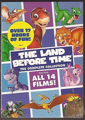 The Land Before Time The Complete Collection DVD 14 Film Movie Box BRAND NEW