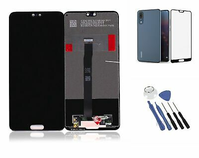 Original Huawei P20 Display LCD Touchscreen Bildschirm Glas schwarz
