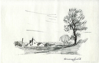 Sydney Vale FRSA - Mid 20th Century Pen and Ink Drawing, Hanningfield