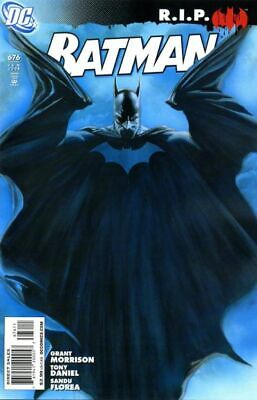 BATMAN #676 VF, Alex Ross c, Grant Morrison, DC Comics 2008 Stock Image
