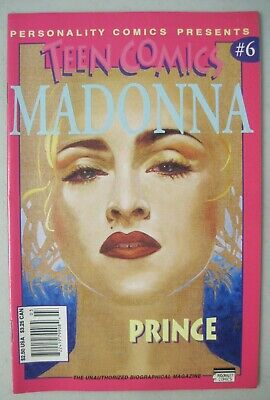 MADONNA in PERSONALITY COMICS PRESENTS TEEN COMICS #6 PRINCE ALSO IN ISSUE