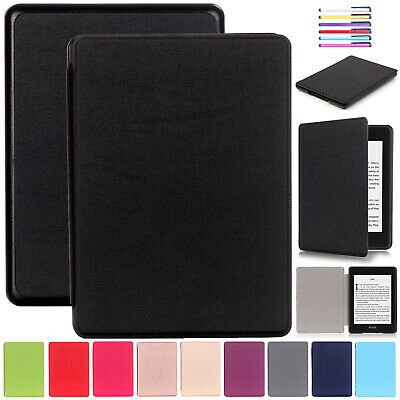 For Amazon New Kindle Paperwhite 2018 Smart Case Leather Flip Thin Cover 6 inch