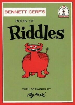 Book of Riddles (Beginner Series) by Cerf, Bennet Paperback Book The Fast Free