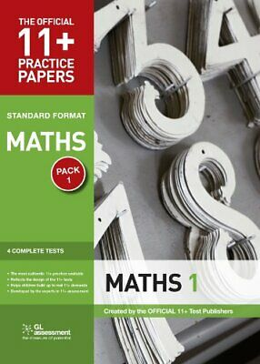 11+ Practice Papers, Maths Pack 1, Standard: ... by Educational Experts Pamphlet