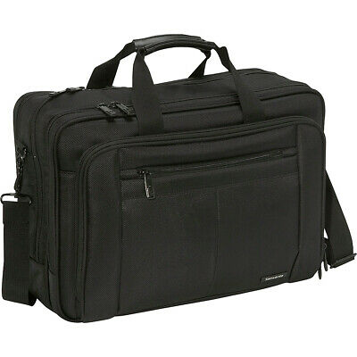 Samsonite Classic Three Gusset Lg Toploader - Black Non-Wheeled Business Case