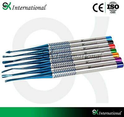 Dental PDL Elevator Proximators Luxating Root EXTRACTING With Free Tray