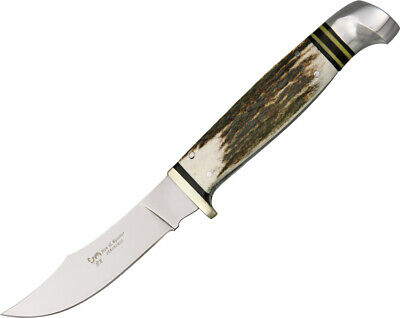 Hen & Rooster HR5048 Knives Fixed Knife Stainless Stag Handle Stag Bowie 7 3/4