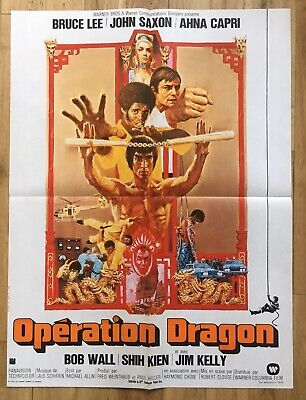 AFFICHE 60x80 - OPERATION DRAGON - BRUCE LEE