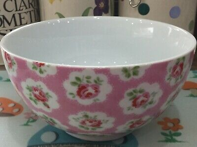 Cath Kidston Provence Rose Pink Cereal Bowl