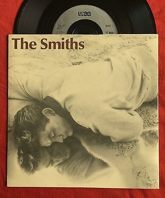 """THE SMITHS - This Charming Man - WEA UK 7"""" (Silver labels) +Pic Slv/Vinyl Record"""