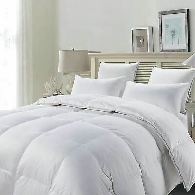 Luxurious Hotel Quality Duck Feather & Down Quilt Soft & Silky Duvet Bedding