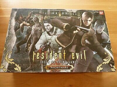 Resident Evil Nightmare Deck Building Expansion Game : BanDai